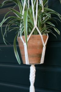 Workshop macrame plantenhanger Het Weerhuys