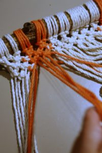 Workshop macramé wandhanger