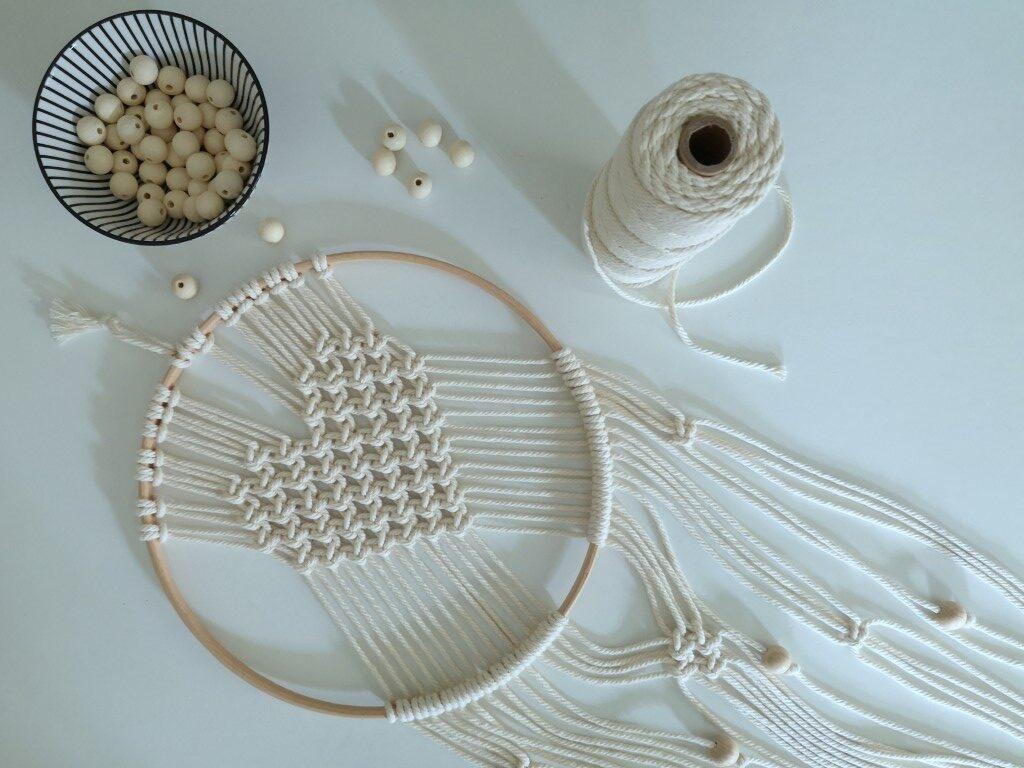 Workshop macrame wandhanger in cirkel